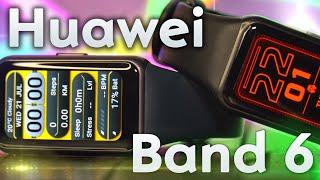 Huawei Band 6 - Всё, что нужно для здоровья!