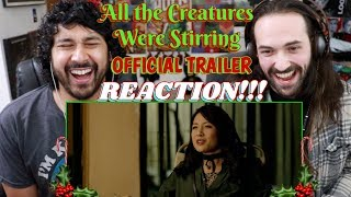 ALL THE CREATURES WERE STIRRING (Holiday Horror Anthology) - Official TRAILER REACTION!!!