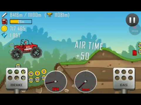 New record in hill climb racing (music mix)