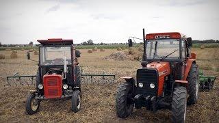 Prace Polowe na 2 Traktory  z Nowym Nabytkiem ! HD ! RolnicyTivi