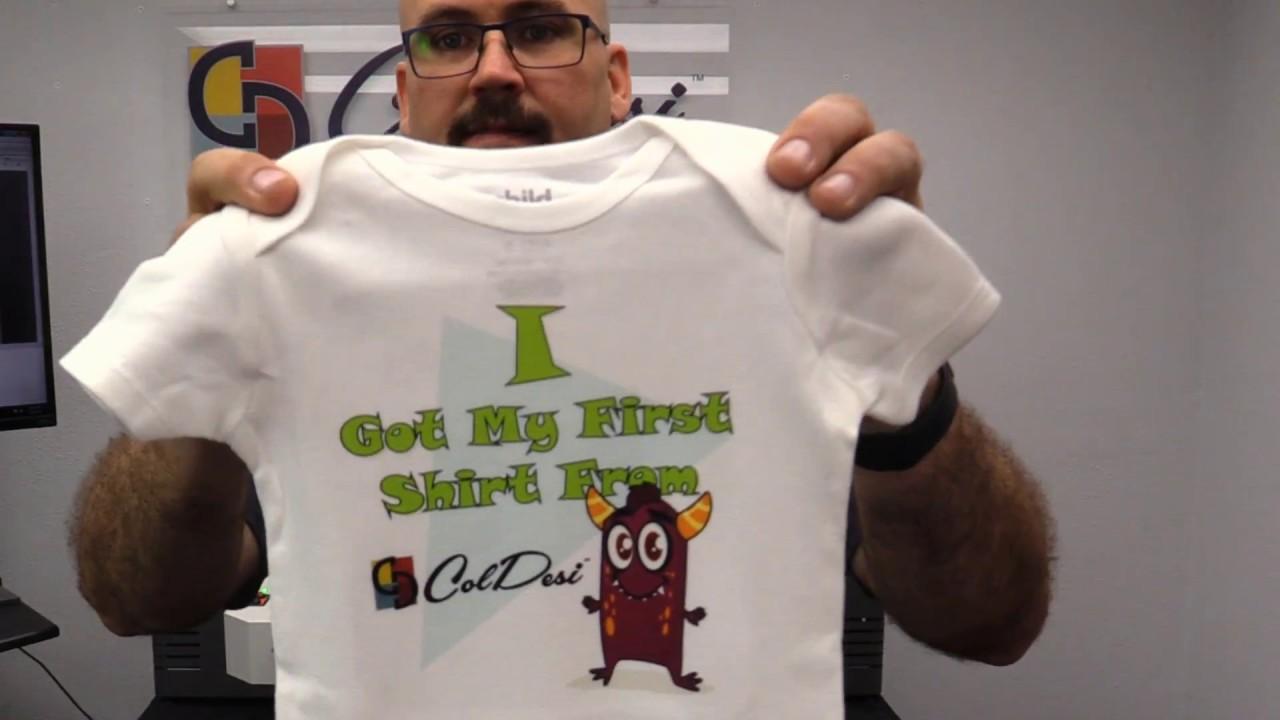 instant shirt printing