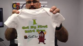 Printing on Baby Clothes | M2 T-Shirt Printing Machine