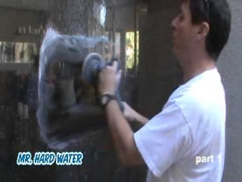 PART 1 - TUTORIAL: MR HARD WATER WINDOW CLEANING