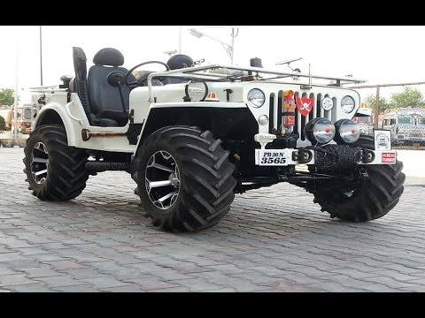 Indian Offroads 4x4 Custom Modified Jeeps Mahindra Classic ...