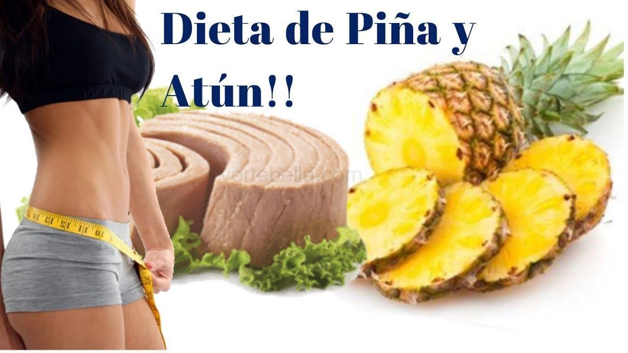 Dieta de la pina en 7 dias