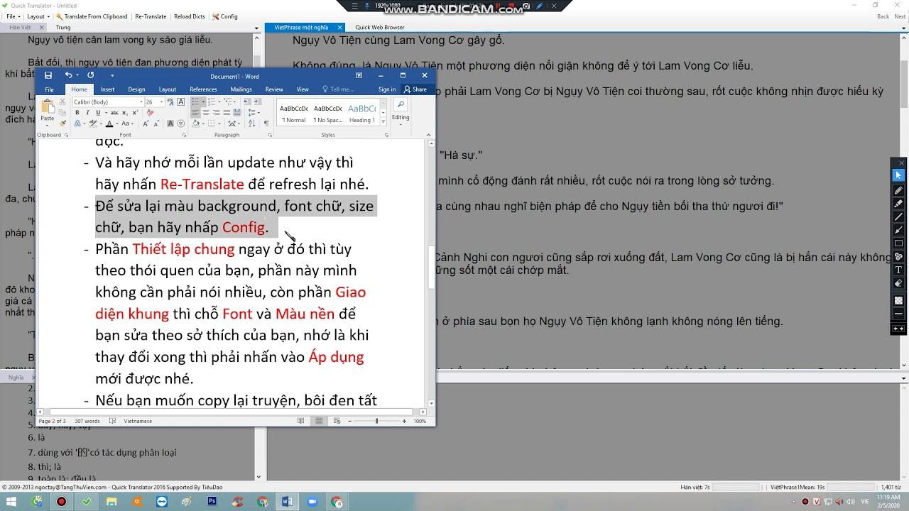 [Hướng dẫn] Convert bằng Quick Translator.