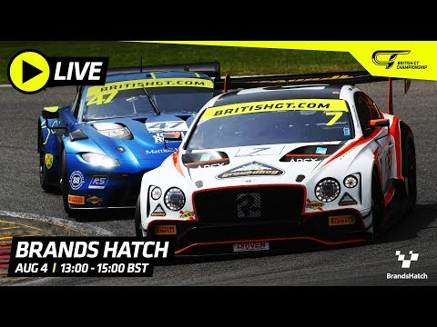 Main Race - BRANDS HATCH - BRITISH GT 2019