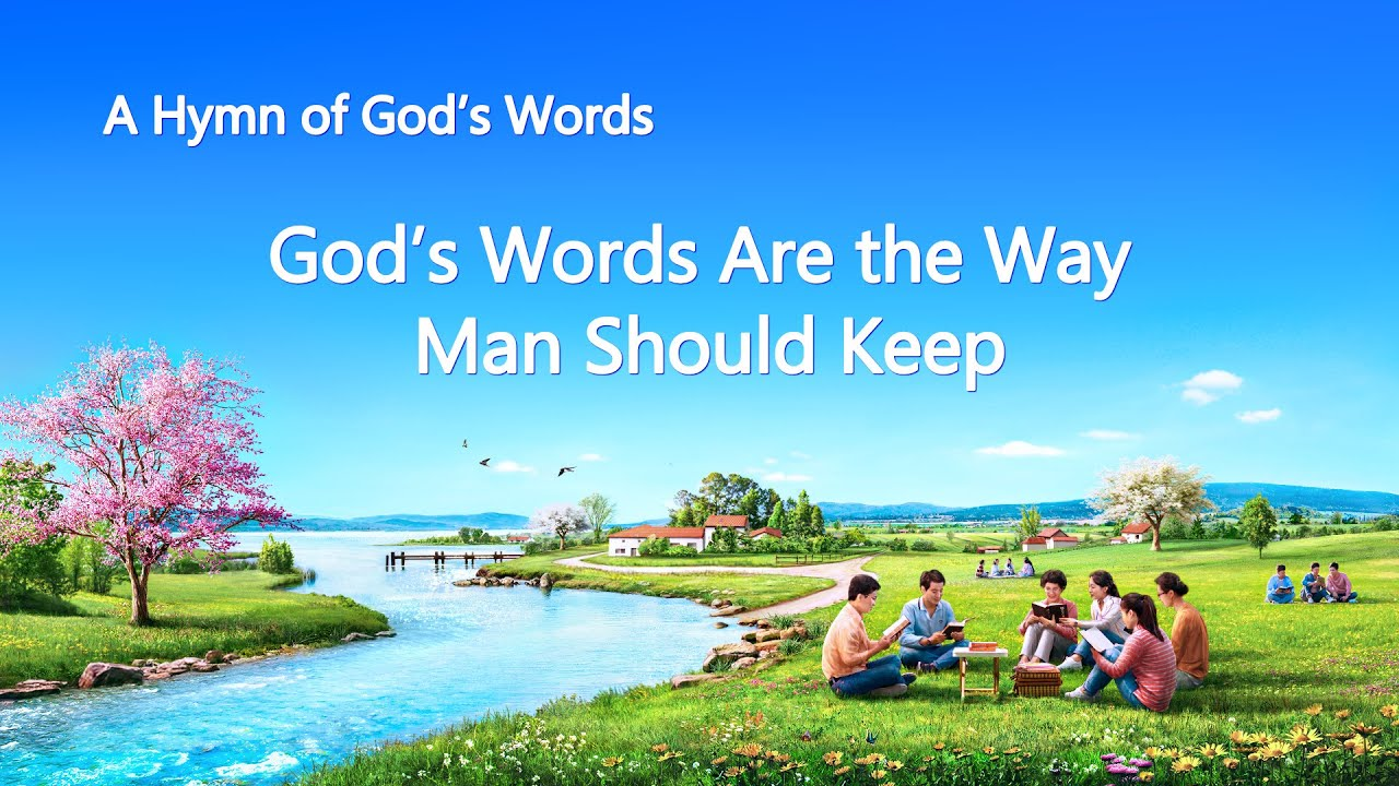 """""""God's Words Are the Way Man Should Keep"""" 