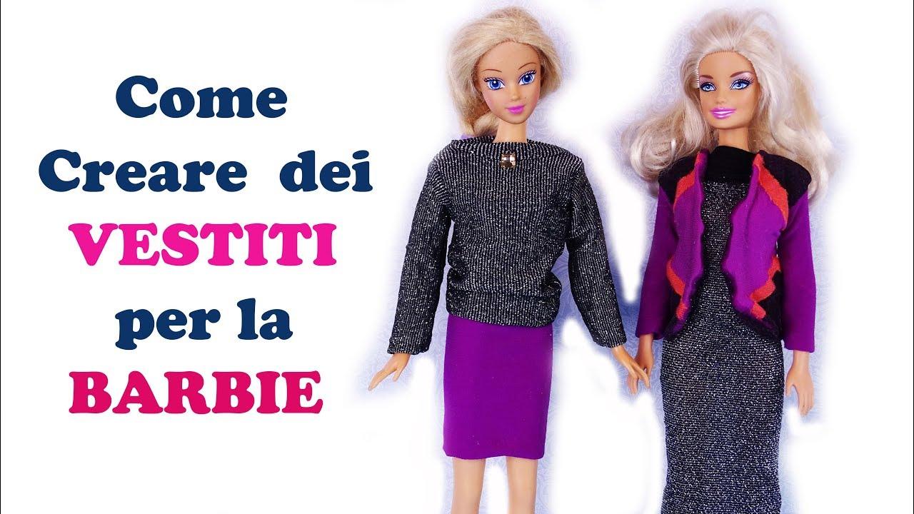 Come fare i vestiti di Barbie: tre idee semplici - Buon Sapere