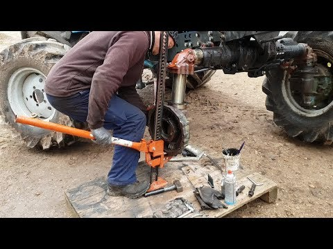 Belarus MTZ-82 restoration project. Part 22 | Front Axle Repair