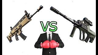AUG vs SCAR FORTNITE