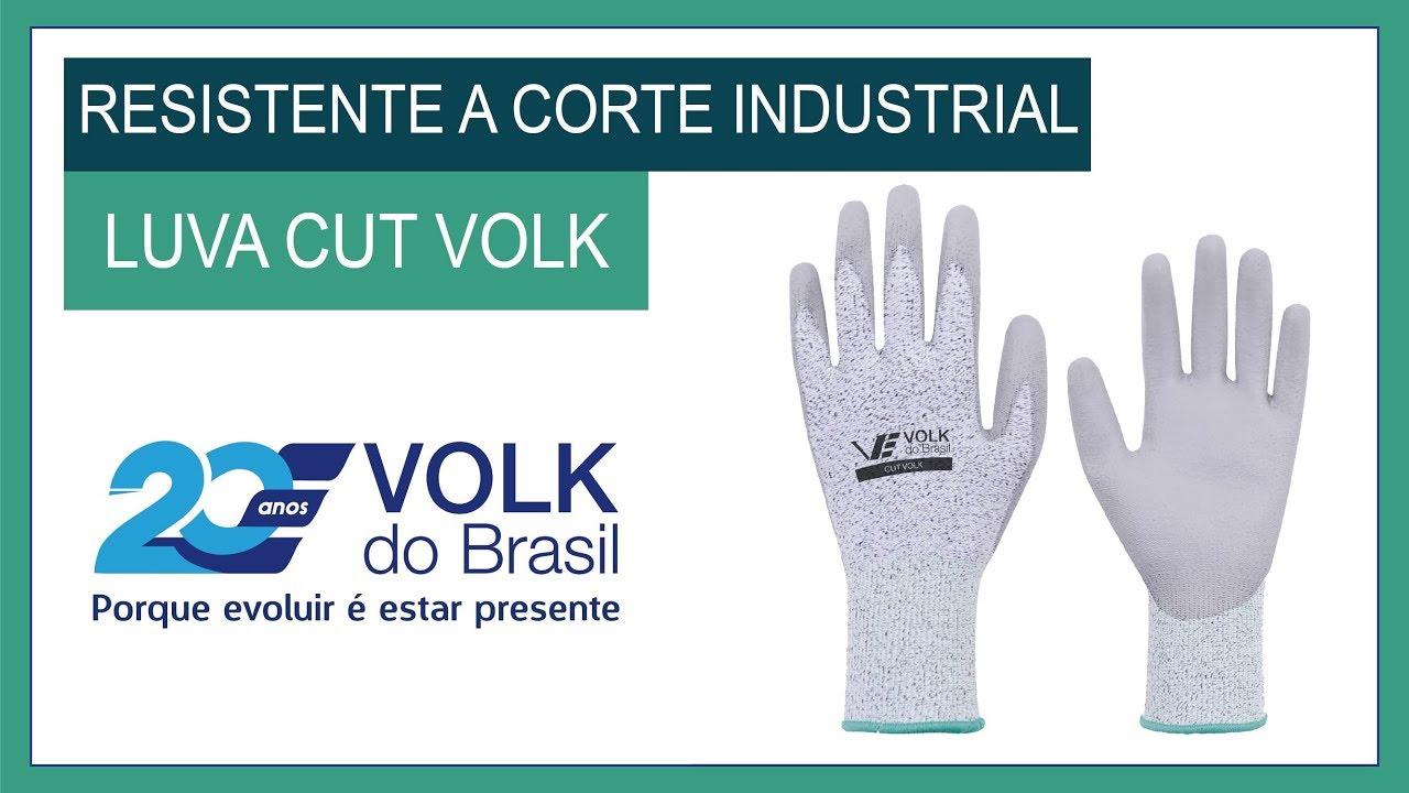 Luva Cut Volk - Volk do Brasil - YouTube 8483370bf6
