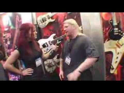 Dean Guitars NAMM 2008 And KARL SANDERS Of NILE