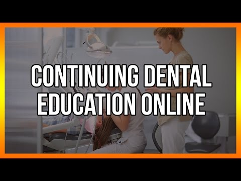 Continuing Dental Education Online
