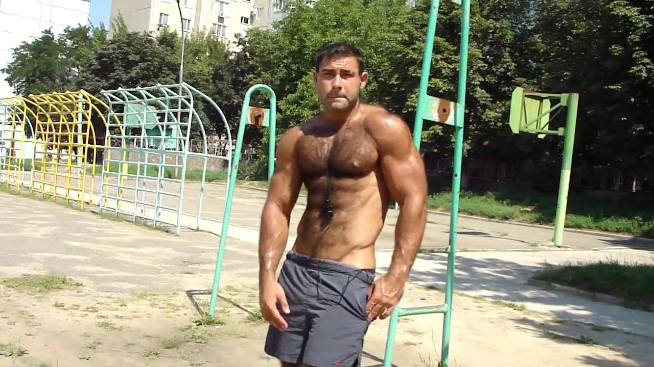 Muscle Hairy Bodybuilder - Youtube-4640