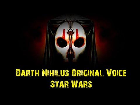 Darth Nihilus Original Voice (Star Wars)