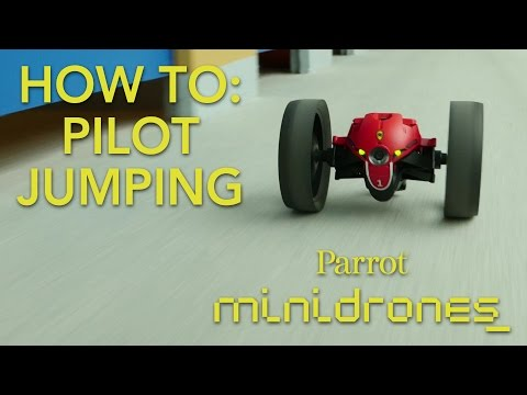 Parrot Minidrones - Jumping - Tutorial #2: Piloting