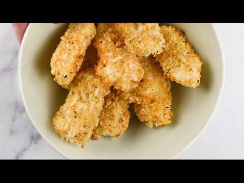 Baked Parmesan Fish Sticks