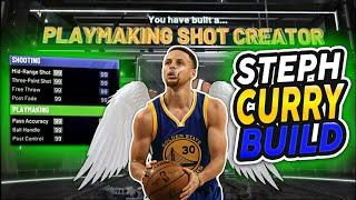 Steph Curry Build on NBA 2K20 - 10 HOF BADGES - DEMIGOD PG!