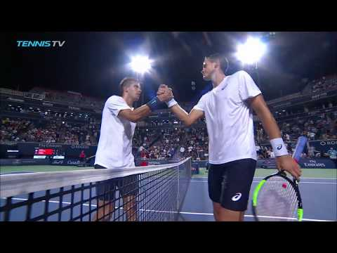Highlights: Raonic Dominates To Start Rogers Cup In Toronto