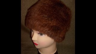 Вязаная шапочка из меха. Мастер-класс. Knitted hat with  fur. Tutorial.(Вязаная шапочка из меха. Мастер-класс. Knitted hat with fur. Tutorial. очень популярно в последнее время вязание с мехом...., 2015-10-24T17:05:59.000Z)