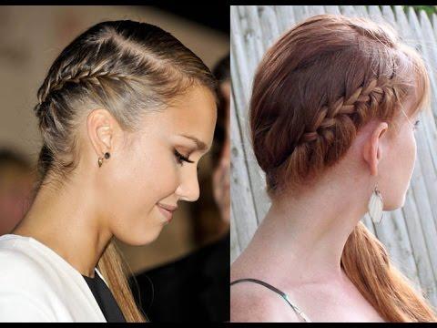 Jessica alba french braid side ponytail hair tutorial youtube jessica alba french braid side ponytail hair tutorial ccuart Images