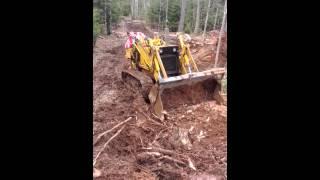 Case 350 track loader