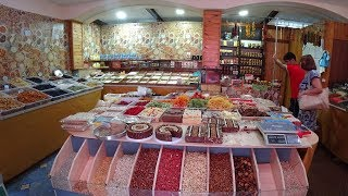Центральный рынок в АНАПЕ. Где я покупаю орехи, сухофрукты, мед и многое другое