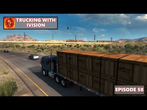 American Truck Simulator - Trucking With iVision - Back In The USA - Live Stream