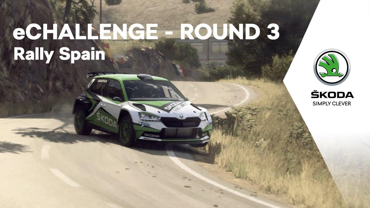 ŠKODA Motorsport eChallenge - Rally Spain