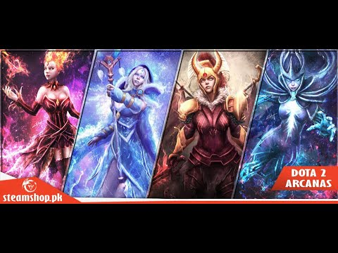 How To Get Free Dota2 Items Immortal And Arcana With Proof (Free Dark Artistry) March 2018