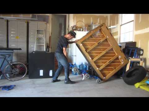 How To Move A 500 Pound Piano BY YOURSELF!