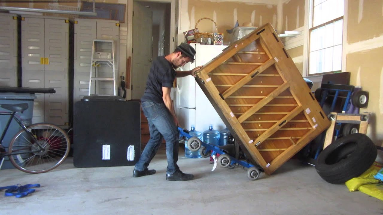 How To Move A 500 Pound Piano By Yourself Youtube