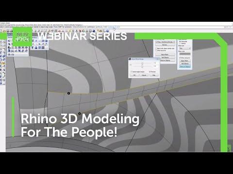 Novedge Webinar #27: Advanced Rhino 3D