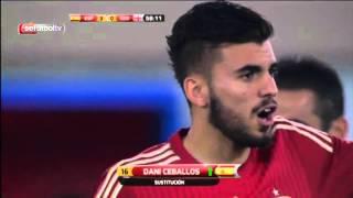España 5-0 Georgio SUB 21