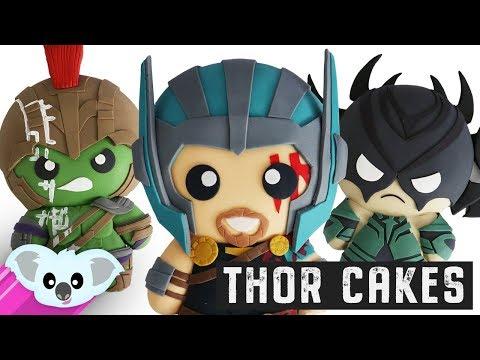 Thor Ragnarok Cakes | THOR HELA AND HULK!