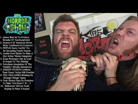The Horror Show News with Booze - June 17th, 2018
