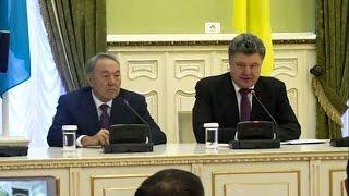 Назарбаев и Порошенко договорились о военном сотрудничестве (новости) http://9kommentariev.ru/