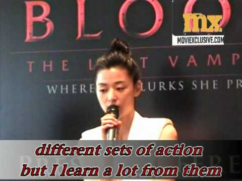 Mx031 Gianna Jun Ji-hyun전지현s Blood: The Last Vampire Press conference