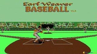 Earl Weaver Baseball gameplay (PC Game, 1987)