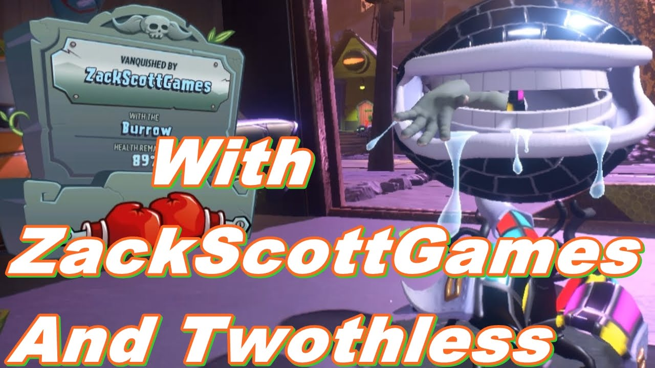 Plants Vs Zombies Garden Warfare 2 With Zackscottgames And Twothless Gameplay 2016 Youtube