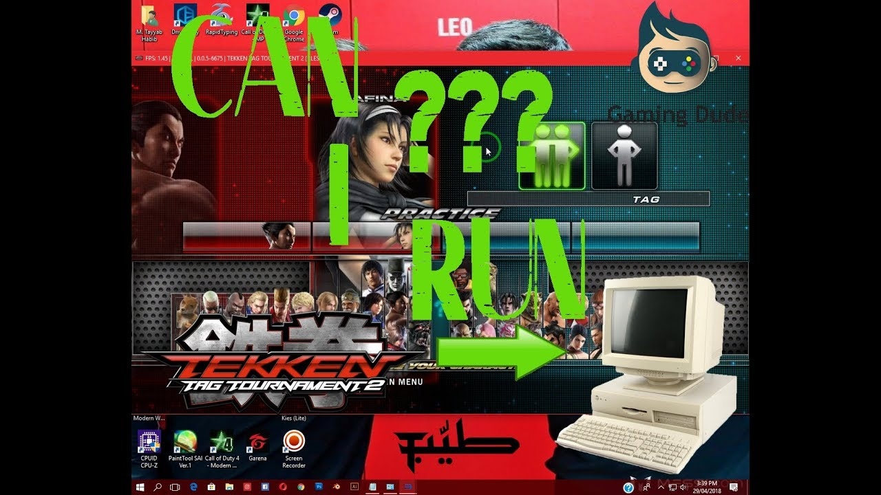 Can I Run Tekken Tag Tournament 2 on Low End PC RPCS3 Test