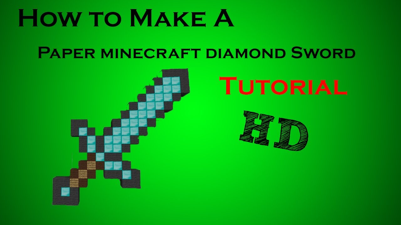 how to make a sword stand in minecraft