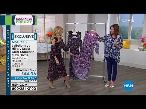 LaBellum by Hillary Scott ColdShoulder Maxi Dress. http://bit.ly/2Yb8h6Y