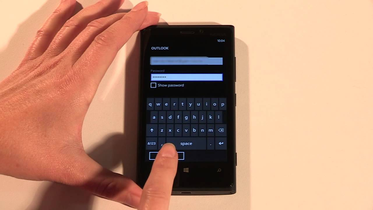 Setting up email on your Nokia Lumia 920
