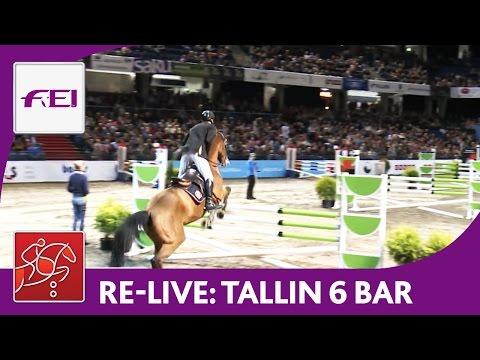 Re-Live   Day 2: Tallinn International Horse Show   Six Bar competition   presented by Pigipada