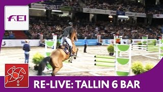 Re-Live | Day 2: Tallinn International Horse Show | Six Bar competition | presented by Pigipada