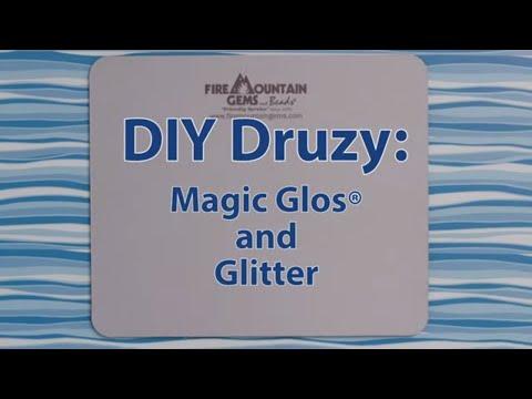DIY Druzy: Magic Glos® and Glitter