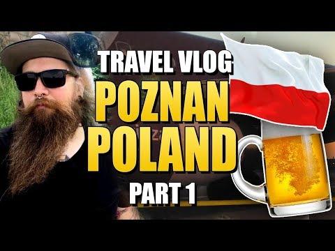 Traveling to Poznan, Poland - Travel Vlog PART 1