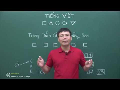 Tiếng Việt - Vì sao dạy ô vuông tam giác trong CNGD (Thầy Nguyễn Thành Nam)